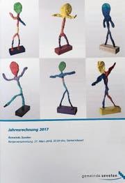 Die Jahresrechnung 2017 liegt auch gedruckt vor. (Bild: PD)