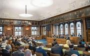Das Ausserrhoder Parlament befasst sich ab Montag mit dem Kantonsratsgesetz. (Bild: Ralph Ribi)