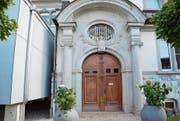 Das alte Portal des Spitals Grabs soll als Zeitzeuge erhalten bleiben und einen Platz auf dem Spitalareal finden. (Bild: Katharina Rutz)