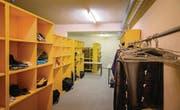 In der Zivilschutzanlage Weier in Alt St.Johann sind seit September 80 Asylsuchende untergebracht. (Bild: Michel Canonica)