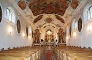 Innenteil und Decke der Wallfahrtskirche Dreibrunnen sollen renoviert werden. (Bild: PD)