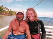 Roland und Cindy Meier nach einem Tauchgang vor der philippinischen Insel Caluya – ihrem Zuhause. (Bild: pd)