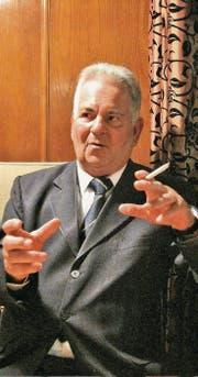Kurt-René Glanzmann: «Ehrlich gesagt habe ich Angst vor der Rückkehr nach Zürich.»