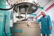 Bühler Uzwil ist Marktführer für dier Herstellung von Schokoladenmasse und -endprodukten. (Bild: Urs Bucher)