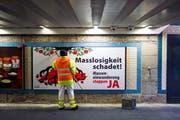 Das Schweizer Volk hat Ja zur Masseneinwanderungsinitiative gesagt. (Bild: Urs Jaudas/Archiv)