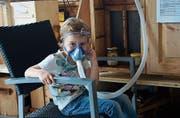 Die Atemtherapie eignet sich auch für Kinder. (Bild: Vroni Krucker)