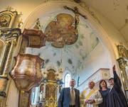 Kirche Thal nach achtmonatiger Bauzeit eingeweiht (Bild: Christof Sonderegger)