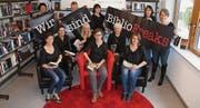 Die Leiterinnen der Regio-Wil-Bibliotheken unterstützen die nationale Kampagne. (Bild: pd)
