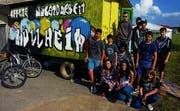 «Das Rolling House» steht Müllheimer Jugendlichen zur Verfügung. (Bild: Marlies Kunz)