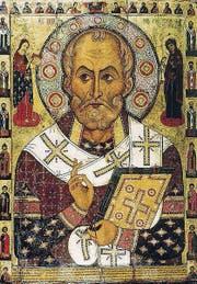 Nikolaus von Myra auf einer russischen Ikone aus dem 13. Jahrhundert. (Bild: pd)