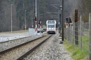 Während rund einer Woche bleibt die Frauenfeld-Wil-Bahn stehen. Es verkehren Ersatzbusse. (Bild: Donato Caspari)