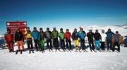 Ein traumhaftes Ski-Weekend der Männerriege Sax in Arosa (Bild: PD)
