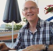 Freut sich über den Zustupf der Migros in die Clubkasse: Andrea Paoli, Präsident und Gründer der Filmfreunde Müllheim. (Bild: Severin Schwendener)