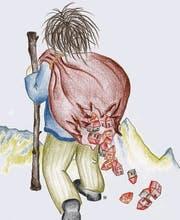 Die Sage des Säntisriesen ist eine der bekanntesten im Toggenburg. (Bild: pd)