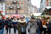 Weihnachtseinkauf in Konstanz: Schweizer erledigen ihr Weihnachtsshopping in Deutschland. (Bild: Donato Caspari)
