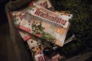 """In der Fasnachtszeitung """"Drachentöter"""" wird bekannt gegeben, wer die Alternative zum Gossauer Preis erhält. (Bild: Sabrina Stübi)"""