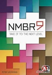 NMBR9 von Peter Wichmann, abacusspiele, 1-4 Spieler ab 8 Jahren, Dauer: 20 Minuten.