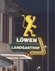 Im «Löwen» in Kaltbrunn tagte die Pnos. (Bild: Urs Zweifel)