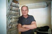 Bruno Hug, Verleger «Obersee Nachrichten». (Bild: Ralph Ribi)