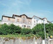 Nur eine der zwei Wohnungen am Unterrain 11 steht frei. Die zweite ist noch bewohnt. (Bild: ale)