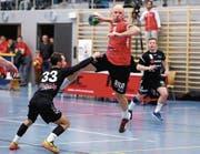 Der frühere Bundesligaspieler Matthias Faisst setzt sich bei Kreuzlingen schon im ersten Spiel in Szene. (Bild: Mario Gaccioli)