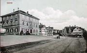 Alte Bilder liefern Ideen, wie sich das Dorf weiterentwickeln kann. Auf dem Foto zu sehen: AR Mittelland um 1900. (Bild: PD)