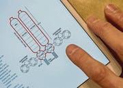 Die erste Siedlungseinheit auf dem Mars, schematisch dargestellt. (Bild: Reto Martin (Reto Martin))