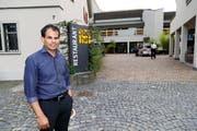 """""""Sandro"""" Saravanamuthu wollte den """"Stadthof"""" mit neuem Konzept beleben. Jetzt macht er einen Rückzieher. (Bild: Rudolf Hirtl)"""