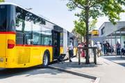 Im Kanton Thurgau wurden 2016 rund 3,4 Millionen Buspassagiere transportiert. (Bild: Andrea Stalder)