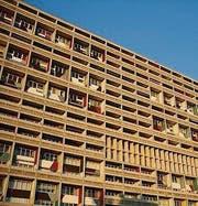 Corbusier-Wohnmaschine in Berlin. (Bild: pd)