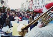 Gibt es dieses Jahr nicht: Musik am Konstanzer Weihnachtsmarkt. (Bild: Claudia Rindt)