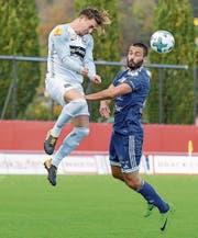 Basil Stillhart und die Wiler kamen gegen Kristian Kuzmanovics Wohlen nicht zum ersten Auswärtssieg der Saison. (Bild: Gianluca Lombardi)