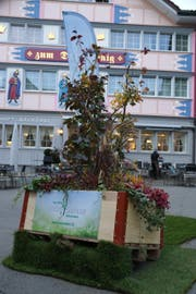 Gärtner brachten die Fussgängerzone in Appenzell zum Blühen. (Bild: pd)