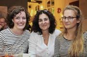 Sandrine Amin, Sabine Engstler und Laura Lahmer. Bilder: tgplus.ch/Chris Marty