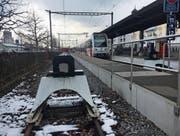 Die Frauenfeld-Wil-Bahn wird nicht verlängert: Die Idee eines Trams durch die Stadt Wil ist bereits früh vom Tisch. (Bild: Simon Dudle)