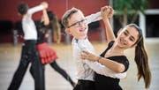 Elegante und ausgezeichnete Tänzer: Arjan Steurer und Aroa Martin. (Bild: Reto Martin)