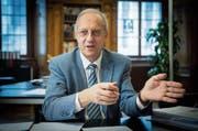 Arno Noger: «Es gibt seit Jahren keine kostendeckenden Tarife.» (Bild: Ralph Ribi)