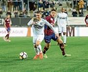 Neuzugang Roberto Alves erkämpft seinen ersten Punktgewinn mit dem FC Wil. (Bild: Gianluca Lombardi)