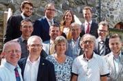 Das parteipolitisch breit aufgestellte Initiativkomitee. (Bild: PD)