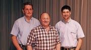 Werner Schmid, Hansueli Heim und Sämi Eisenhut. (Bild: PD)