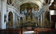 Die Klosterkirche in Fischingen wird mit einer energiesparenden Beleuchtung ausgestattet. (Bild: pd)