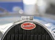 Legendär. Das Bugatti-Emblem ist allein schon ein Blickfang. (Bild: Reto Martin (Reto Martin))