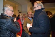 Rästu Stocker (links) ist der erste Präsident des neu gegründeten Vereins «protoggenburg.ch». (Bild: Adi Lippuner)