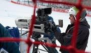 Beni Giger ist mit der Produktion des ersten Rennens zufrieden. (Bild: PD)