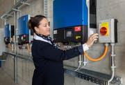 Regierungsrätin Carmen Haag - hier im Werkhof Sulgen - besucht von Amtes wegen immer wieder Betriebe im Kanton Thurgau. Nach einem Vortrag in einer umstrittenen Biogasanlage in Schlattingen muss nun ihre Befangenheit überprüft werden. (Bild: Reto Martin/Archiv)