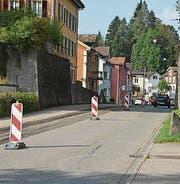 Richtung Wil ist die Durchfahrt für den Verkehr offen. (Bild: PD)