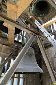 Trotz Baustelle befinden sich die Glocken noch im Turm. (Bilder: ARC/PD)