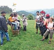 «Zäme-Wachse» heisst es auch bei einer Wanderung durch das untere Toggenburg. (Bild: PD)
