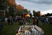 """Im August 2016 lockte das """"Out in the Green Garden"""" mehr als 3000 Besucher in den Murg-Auen-Park in Frauenfeld. (Bild: PD/David Hauser)"""