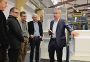 Max Herger, Geschäftsführer der V-Zug Kühltechnik, brachte die Kühlschrankproduktion am Standort Arbon innert dreier Jahre auf Vordermann. (Bild: Max Eichenberger)